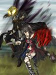 Charge into battle - Velvet and Eizen by May-May-Meow