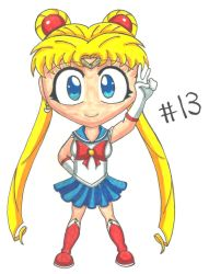 Chibi #13: SAILOR MOON by Mau506SK