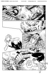 Spider-Gwen Inks Page 2 by Hominids