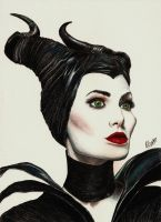 Maleficent by PrincePedro