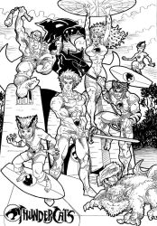 THUNDERCATS Lineart by VAXION