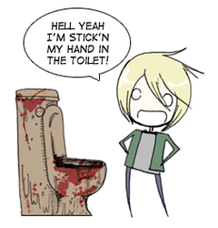 Silent Hill - The Toilet by SH-Hell