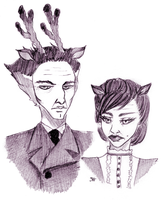 Mr and Mrs Applegate by Shadowstar