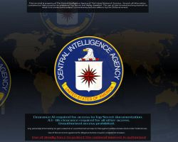 CIA Screen Saver by profet