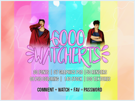 #MEGAPACK 6000 WATCHERS! by BEAPANDA
