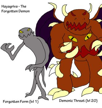 Hayagriva - The Forgotten Demon by LordTekron