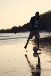 An evening game by sanjyot