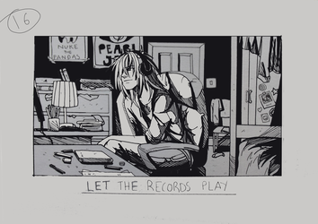 Day 16 - Let the records play by Inui-Purrl