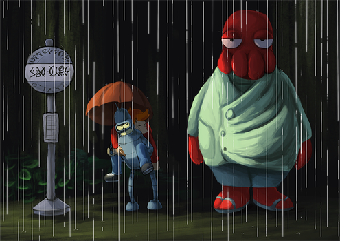 My Neighbour Zoidberg by Foxeaf