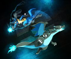 Luca and Zard by LazyAmphy