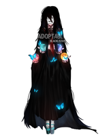 Adoptable Yankii Girls3-The witch[close] by BlacklistXII