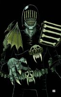 Judge Death by Jason-Lenox color by Chaz spooky by ChazWest