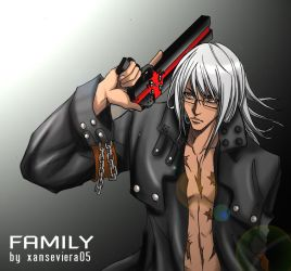 Gungrave+family by xanseviera