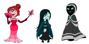 designs of the re variety by StardustNebulae