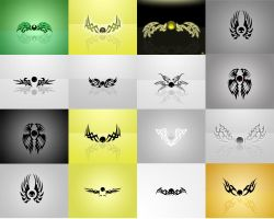 Wings Wallpaper Pack by narvils