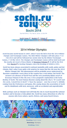 Sochi 2014 Olympics Journal Skin by TaNa-Jo