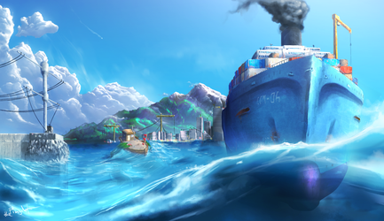 OceanTrails by thePingdelf