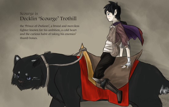 Human Scourge (Medieval) by TigerMoonCat