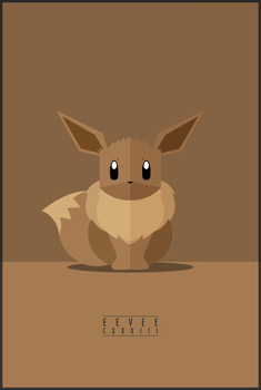 Eevee : CXXXIII by WEAPONIX