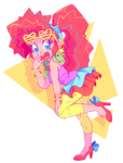 Pop Star Pinkie Pie by ChocoChaoFun