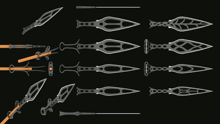 Sword Designs by dudecon