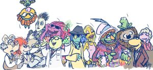 Muppets 2012 by aerinsol