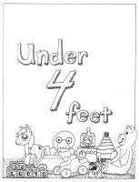Under 4 Feet, Title Page by LucyQ602