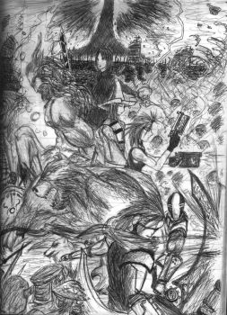 war in hell by mo0ntrigger