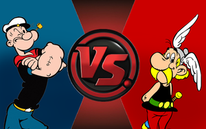 CFC|Popeye vs. Asterix by Vex2001