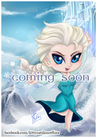 Disneychibi - Elsa (Frozen) - Coming Soon by Nekoi-Echizen
