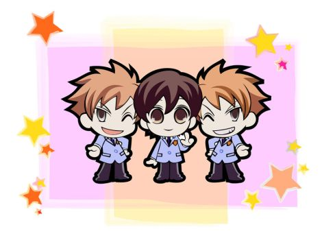 Ouran Host Club - Friends by MargotYvy