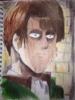 Captain Levi: Attack on Titan by Africa2000