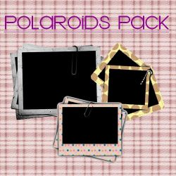 polaroids pack png by kikarr