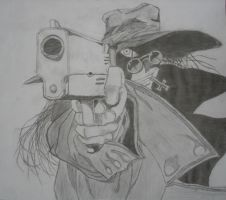 Hellsing - Alucard by Bad-ass-person
