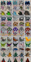 (FINAL UPDATE!) WOTM2 New Monsters by DinoHunter2
