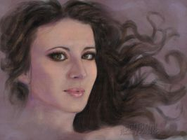 A Portrait in Pink by Abbyanna