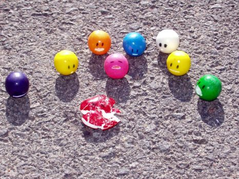 Gumball death by MithMuffet
