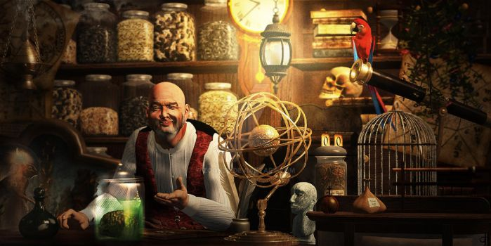 Second-hand Genius Shop by Zoon3d