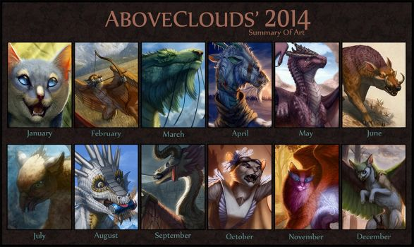 2014 Summary of Art by aboveClouds