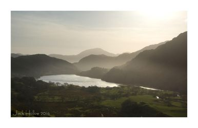 Misty North Wales by jackhollow