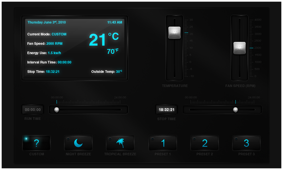 Touchscreen Interface by JonFitzsimmons