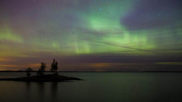 Northern lights Tampere by Sara-Roth