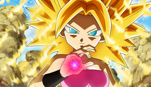 Dragon Ball Super - Caulifla Supersaiyajin by lucario-strike