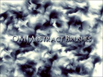 OMJ Abstract Brushes by OldManJames