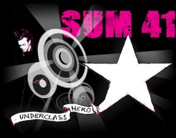 Sum 41 T-Shirt contest entry by HugTheMonster