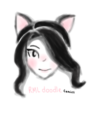 New art style plus new profile picture by RMLdoodlecomics