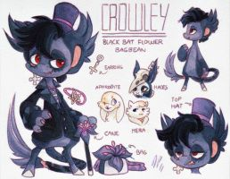 Crowley Ref. Sheet [CM] by Baraayas