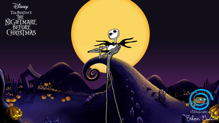 The Nightmare Before Christmas wallpaper by Pichu8boy2Arts