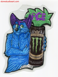 Ace Drink Badge - AC2018 by ZinStone