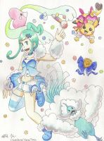 Lisia, the Hoenn idol of your heart! by ClaireCherry
